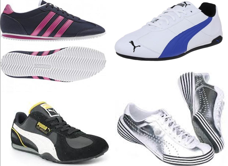 sneakers puma adidas